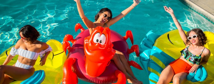 MER-MAZING! Disney Store Release The Little Mermaid Pool Floats