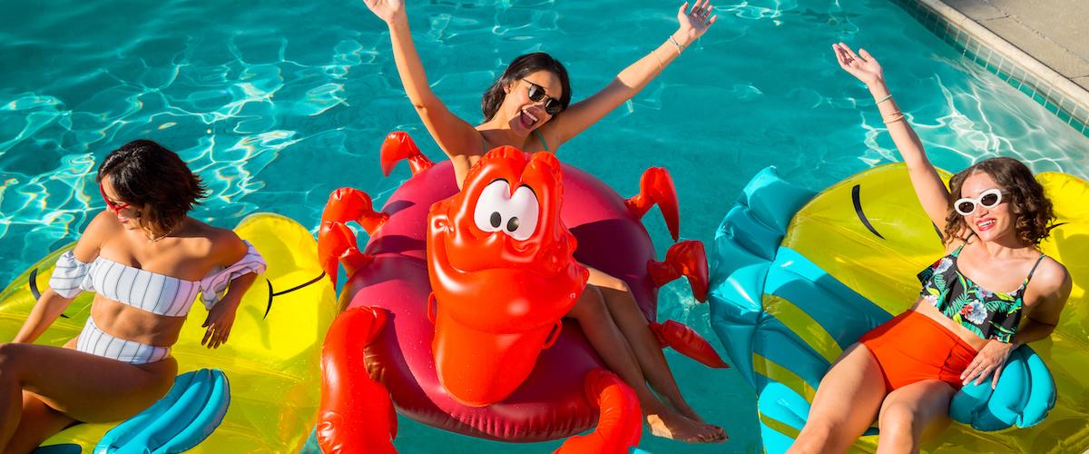 MER-MAZING! Disney Store Release The Little Mermaid Pool Floats