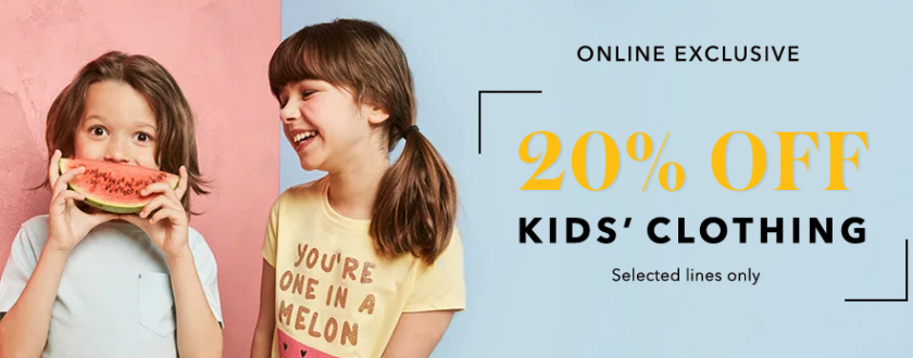 Yay! George At Asda Have 20% OFF Kids Clothing